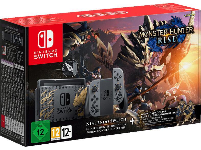 Nintendo Switch Monster Hunter Rise Edition inkl. Download-Code für die Vollversion u. Deluxe-Kit-DLC-Paket für 372,87€ inkl. Versandkosten