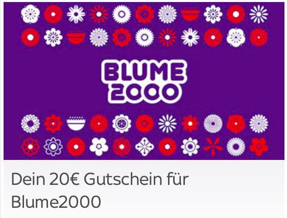 [Sky Extra] 20€ Gutschein für Blume2000 zum Valentinstag (kein MBW)