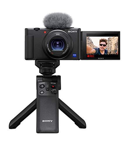 (Amazon.de) Vlog-Kamera-Set Sony ZV-1 inkl. Bluetooth Handgriff GP-VPT2BT