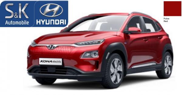 [Gewerbe] Hyundai KONA Elektro Style 100kW Klima+Navi+PDC+Cam+Sitzheiz.+Wärmep., BAFA, 24M., 82,74 € p.M. (eff. 150€ p.M.) LF 0.24, GF 0,37