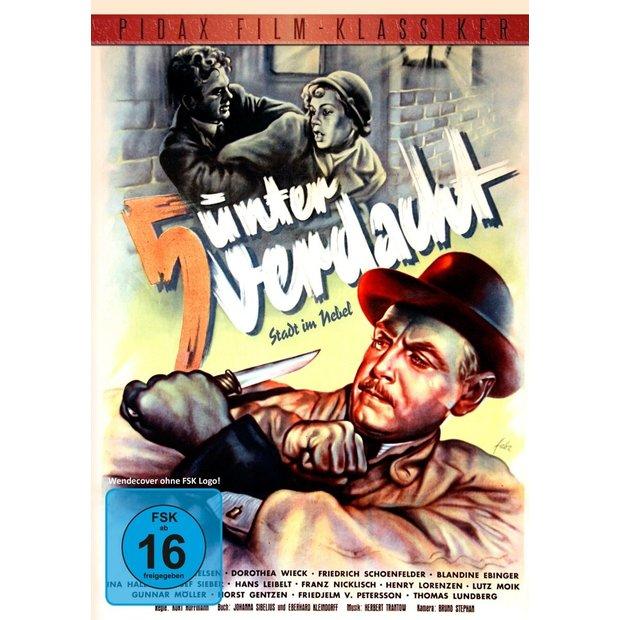 5 unter Verdacht (Stadt im Nebel) - Pidax Klassiker DVD/NEU/OVP