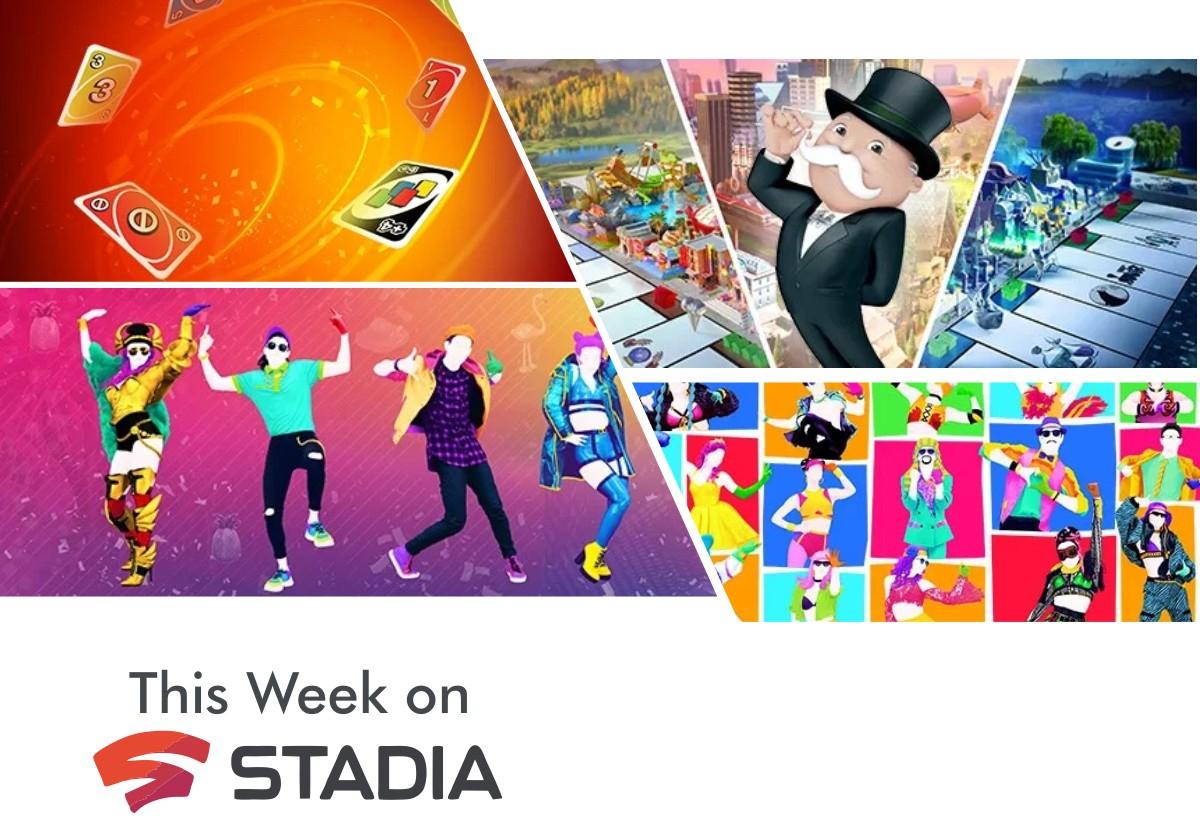 [Stadia + Stadia Pro] Ubisoft-Familienspiele mit Just Dance Monopoly und UNO
