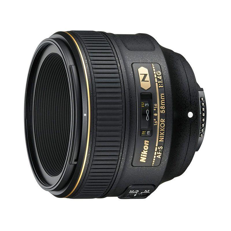 Nikon AF-S 58 mm 1: 1,4 G Objektiv