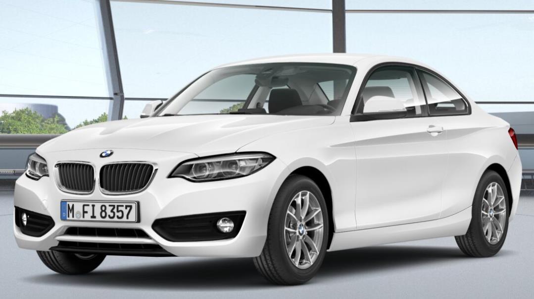 Autokauf: BMW 2er Coupé (frei konfigurierbar) als Neuwagen für 23.025,50€ inkl. Überführung - LP: 31.750€