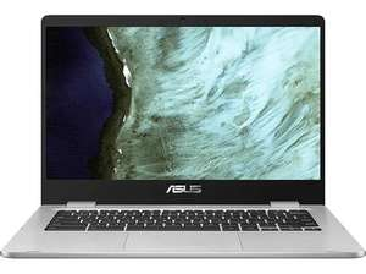 ASUS Chromebook (C423NA-EB0243), 14 Zoll Display, Pentium® Prozessor, 4 GB RAM, 64 GB eMMC, Intel HD Grafik 500 nur Saturn Card