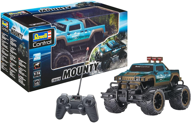 [Amazon Prime/Media-Markt] Revell 24472 Mounty Control Truck Spielzeug, blau