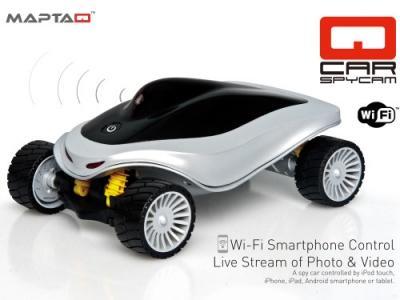 Maptaq QCAR SpyCar RC inkl. Videofunktion Wi-Fi