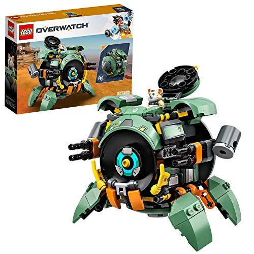 (Prime) LEGO 75976 Overwatch Wrecking Ball mit Hamster-Figur Hammond
