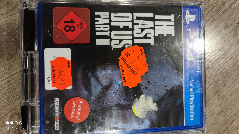 [Lokal Detmold Kaufland] The last of Us 2 PS4 für 6,50€ & Dreams PS4 für 4,00€