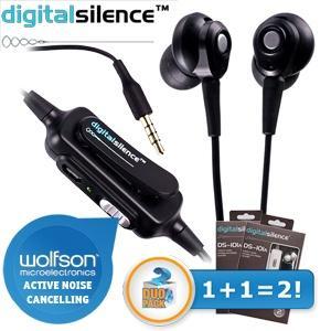 iBOOD Kopfhörer mit Mikrofon: DUOPACK DS-101A mit Rausch Unterdrückung inkl. Versand 20,90€