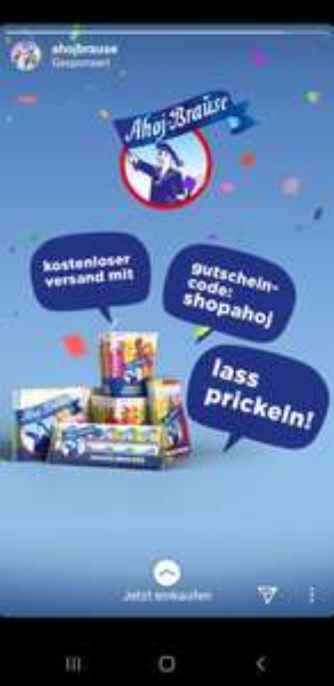 Ahoj Brause Neuer Shop Gratis Versand (MBW 5 Euro)