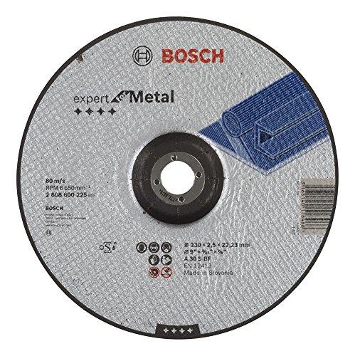 (Prime) Bosch 2608600225 Schleifzubehör Trennscheibe 230 x 2,5 mm f.Metall