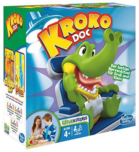[Amazon Prime] Hasbro Gaming B0408100 - Kroko Doc Kinderspiel, ab 4 Jahren