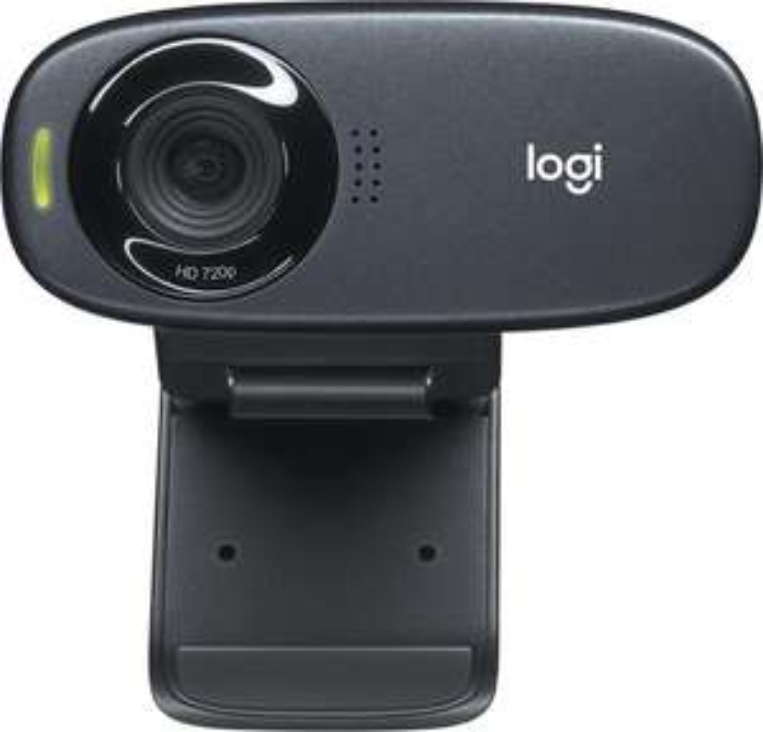 Logitech C310 HD Webcam (720p, 60° Sichtfeld, USB, Mikrofon, Rauschunterdrückung, Universalhalterung, für PC, Mac & Android)