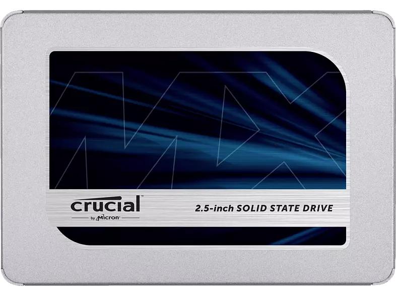 [Saturn] CRUCIAL MX500, 1 TB, SSD, Interner Speicher, 2,5 Zoll, intern für 84,03€