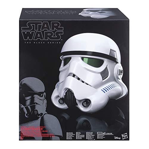 Hasbro B9738EU4 Star Wars Rogue One The Black Series Imperialer Stormtrooper Helm mit Stimmenverzerrer