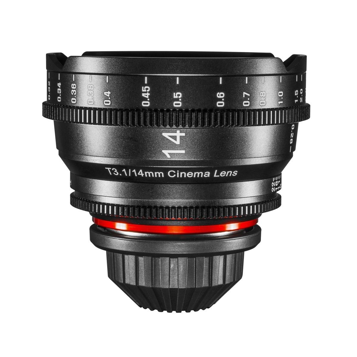 Samyang XEEN Cinema 14mm T3.1 Objektiv für PL-Mount