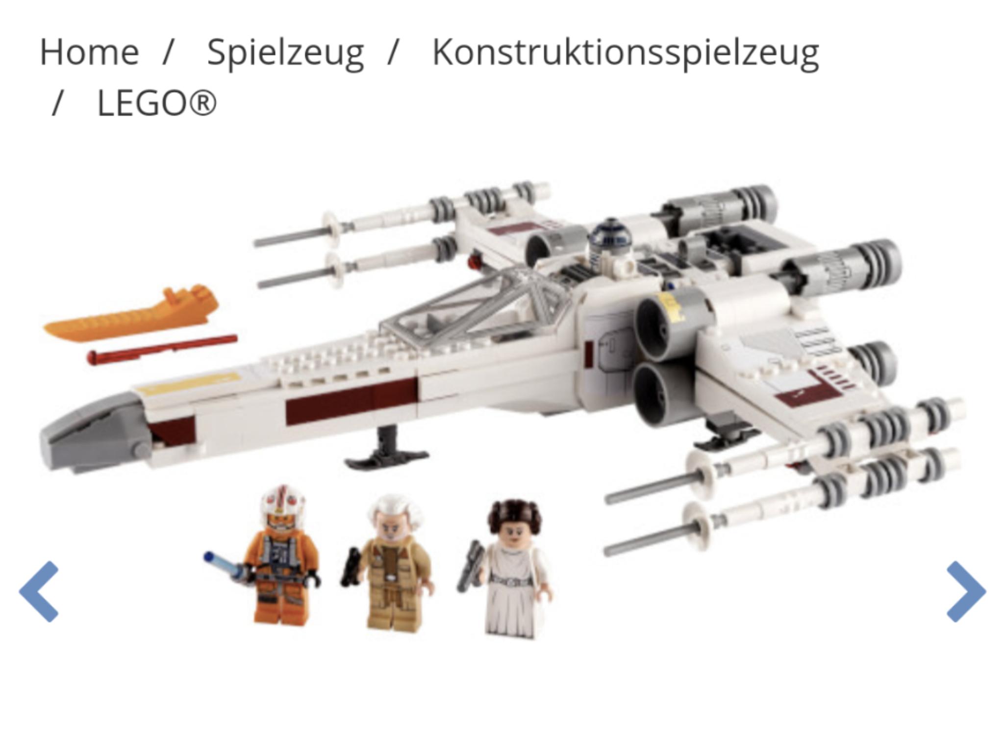 Lego 75301 Lukes X-Wing