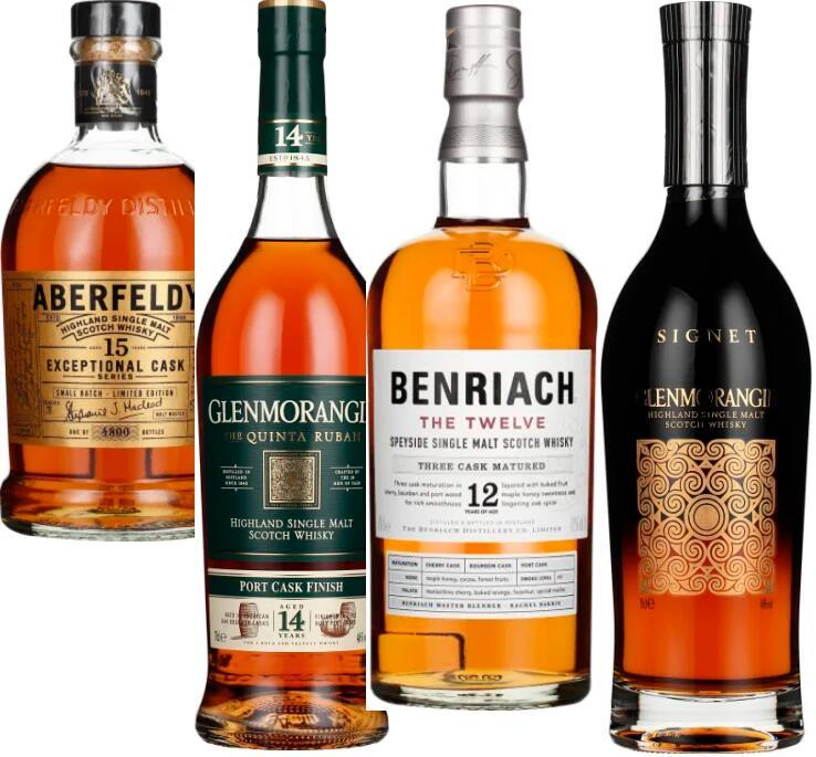 Whisky-Angebote: z.B. Aberfeldy 15 years Exceptional Cask für 55,50€
