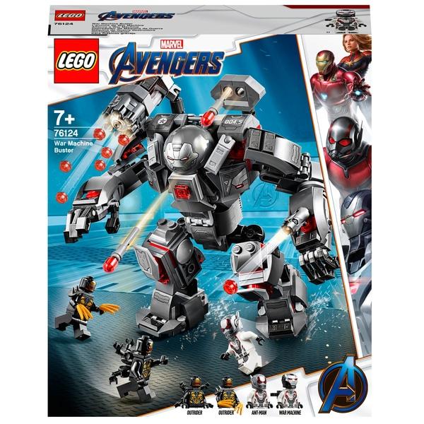 (Smyths Toys Click&Collect) Rächer sammeln! LEGO Avengers EOL Sets 76123, 76124, 76131 und 76144 zu guten Preisen
