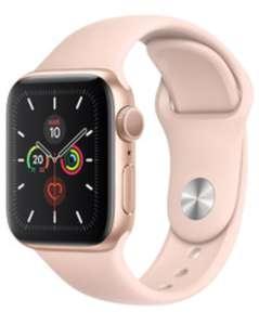 Apple Watch Series 5 Cellular 40mm Aluminiumgehäuse rosegold / schwarz
