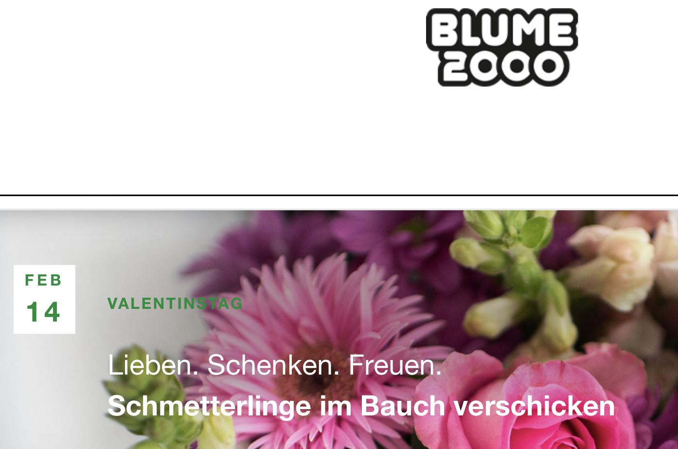 Vattenfall my Highlights App: Gutschein für Blume2000, 10 € ohne MBW, auch auf Geschenkkarte einlösbar!