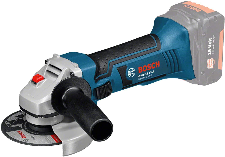 [Amazon/Contorion] Bosch Professional 18V Akku Winkelschleifer GWS 18 V-LI (Scheiben-Ø: 115 mm, ohne Akkus/Ladegerät, im Karton)