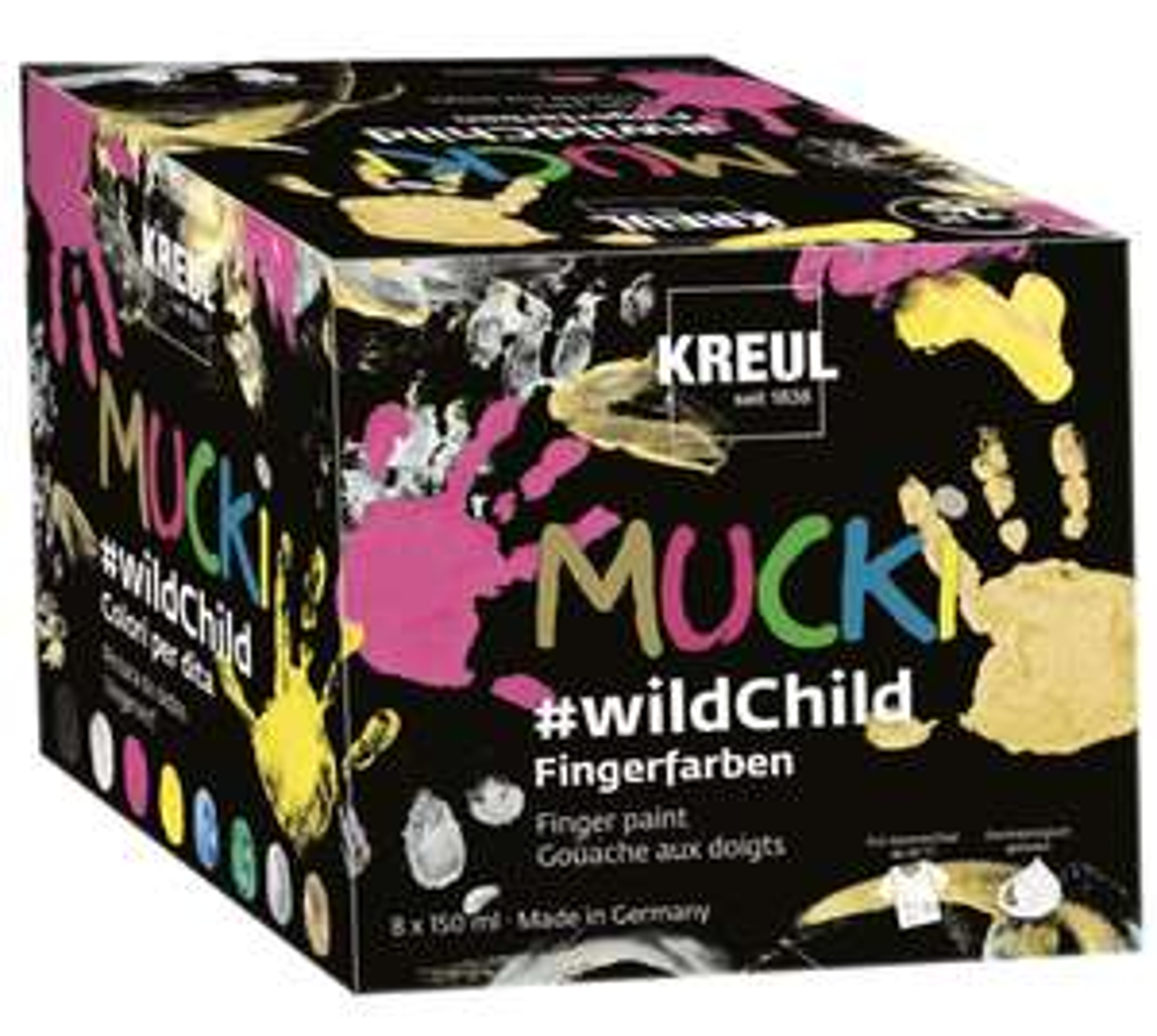 Mucki Fingerfarbe #wildchild von Kreul (Prime)