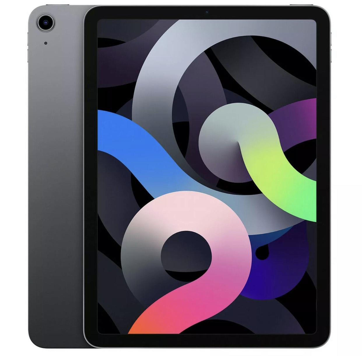 Apple iPad Air (2020) mit 64GB, WiFi, Space GRAU MYFM2FD/A