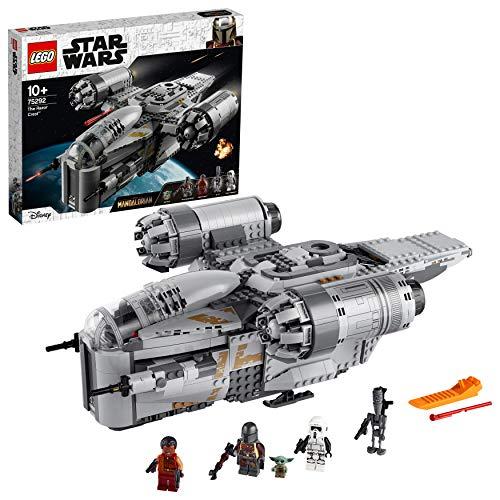 Lego Star Wars The Mandalorian Transporter des Kopfgeldjägers Razor Crest 75292