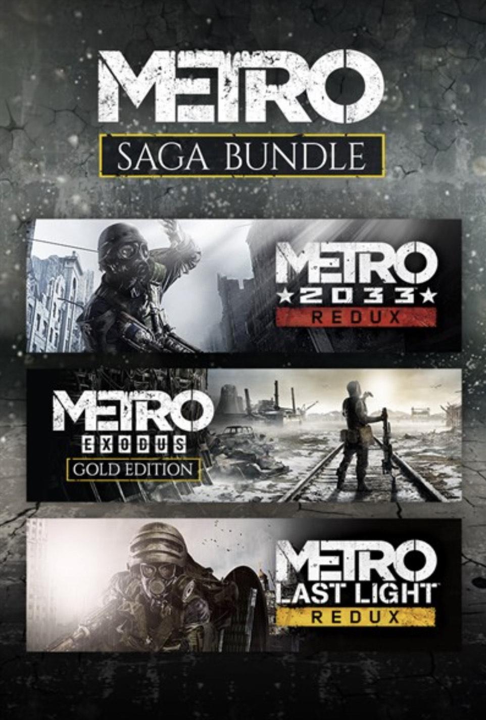 Metro Saga Bundle Xbox