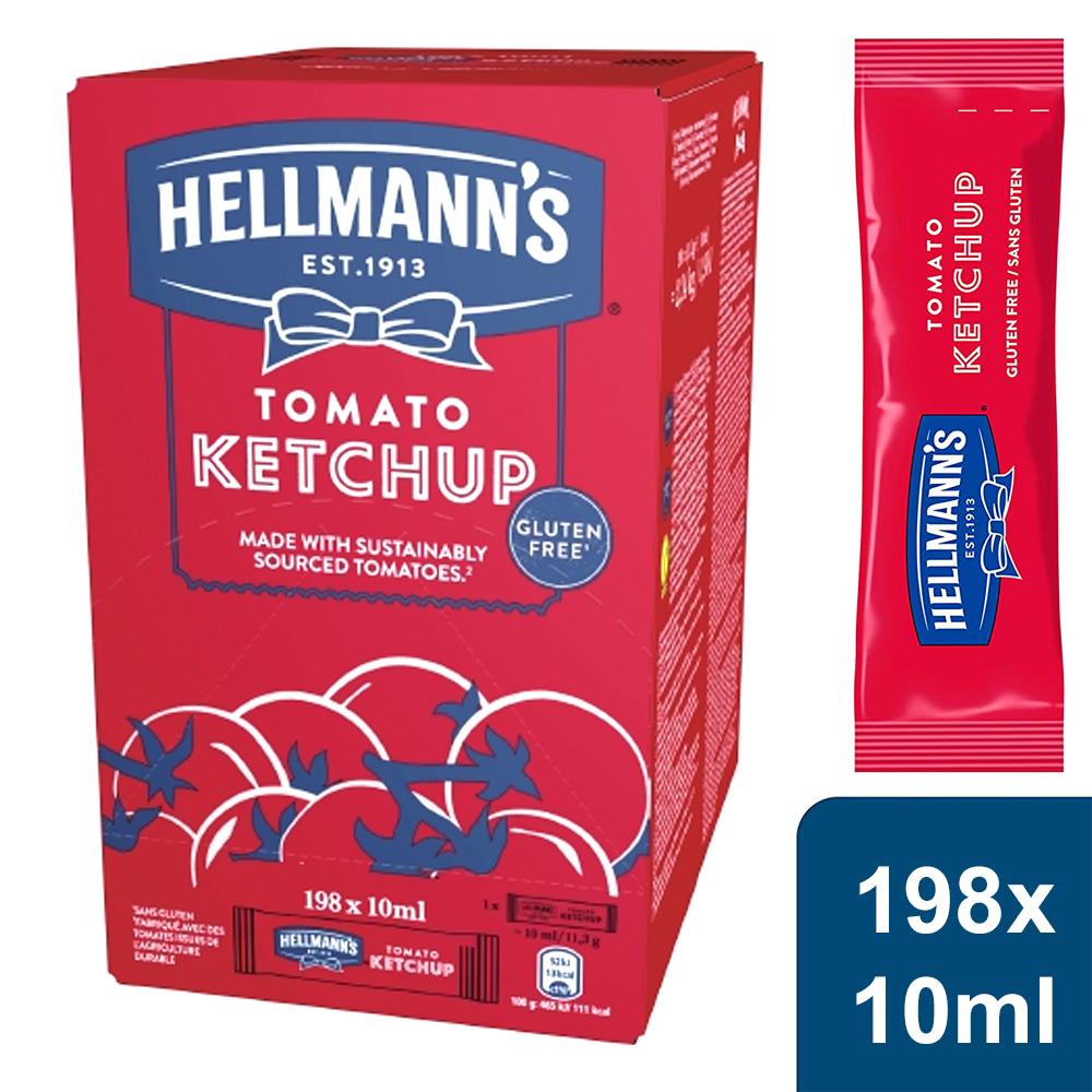 Hellmann's Tomaten Ketchup Portionsbeutel (198 x 10ml)