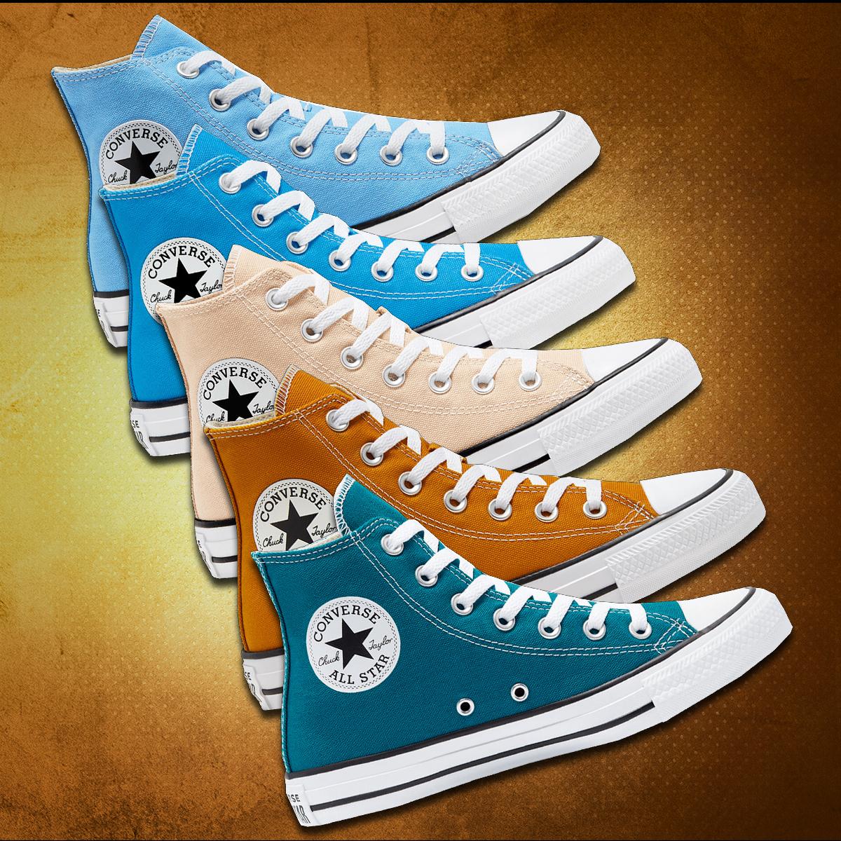 Converse Freizeitschuh Chuck Taylor All Star High Top in 4 Farben und