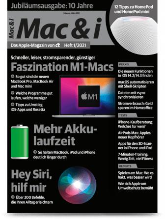 c't Mac & i (2 Ausgaben Print) + 10€ Amazon-Gutschein + Sonderheft Mac & i special 370 Mac-Tipps für 14,40€