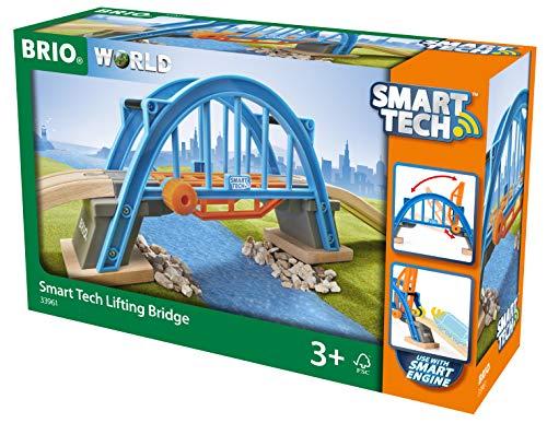 (Amazon Prime) BRIO Bahn 33961, Smart Tech Hebebrücke