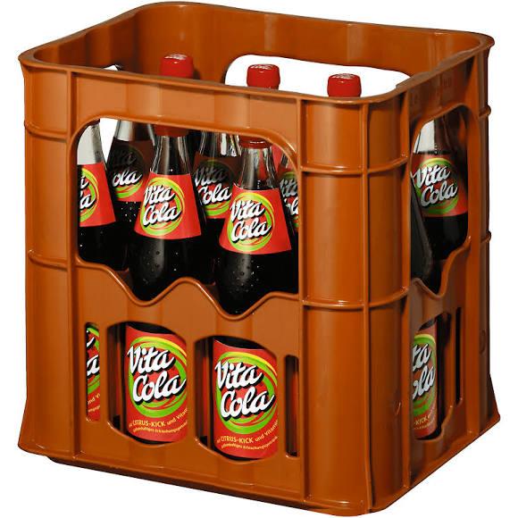 Tegut lokal : Vita Cola Original in der Glasflasche / Kiste ( 12 x 0.7 Liter) entsprechend kostet der Liter damit 65 Cent
