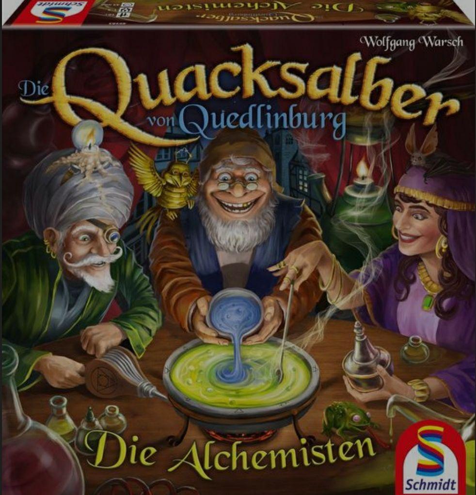 Alchemisten Brettspiel Erweiterung (Die Quacksalber von Quedlinburg) zum Bestpreis vorbestellen [Thalia]