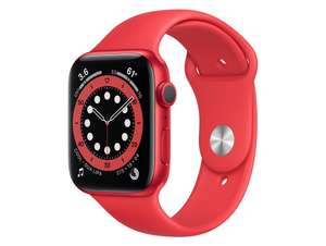 [Sammeldeal] Apple Watch Series 6 GPS 44mm mit Sportarmband in PRODUCT RED für 386,49€ (GPS) / 462,89€ (GPS + Cellular) [future-X]