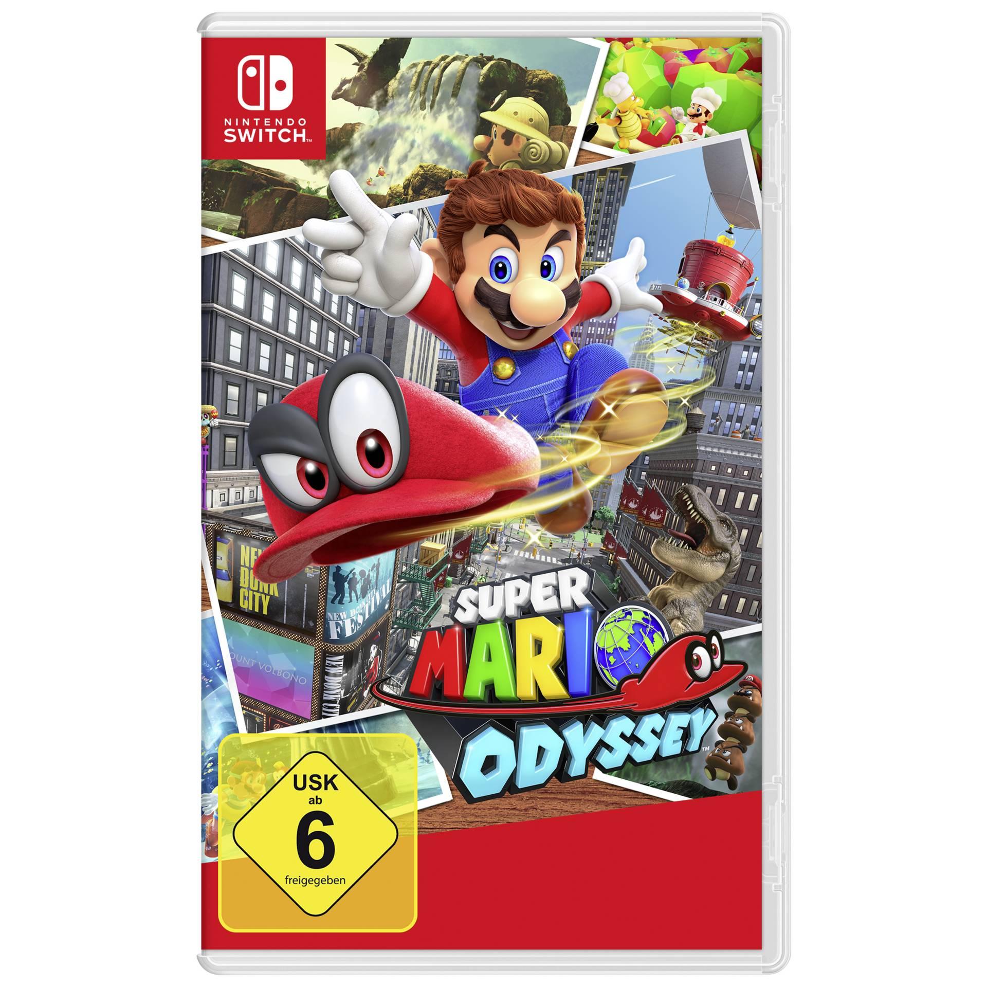 [Maingau Kunden inkl. NL Gutschein] Nintendo Switch Super Mario Odyssey