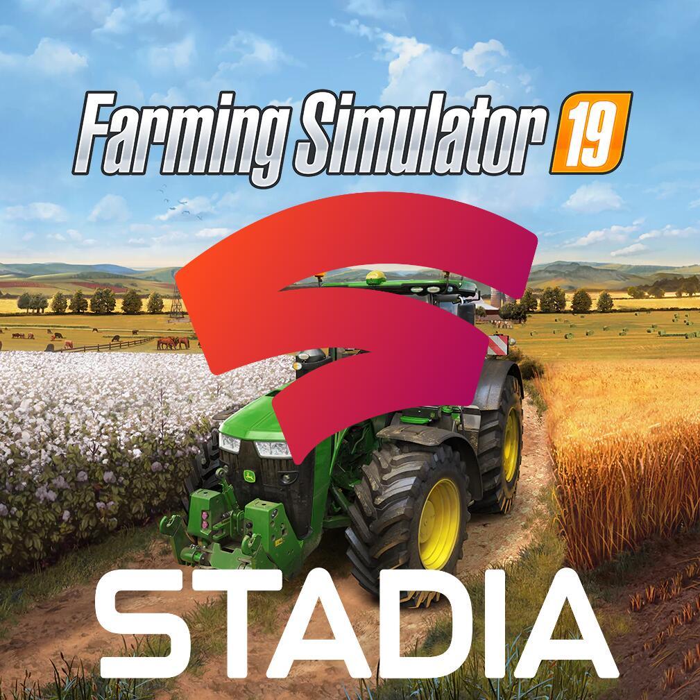 Landwirtschafts-Simulator 19 free to play Weekend kostenlos und 20,99 € [Stadia und Stadia Pro]