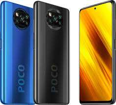 "POCO X3 NFC [6/64GB, 120Hz 6.67"" IPS 2400x1080 Display, 5160 mAh, MIUI 12 Android 10] [Shadow Gray, Cobalt Blue]"
