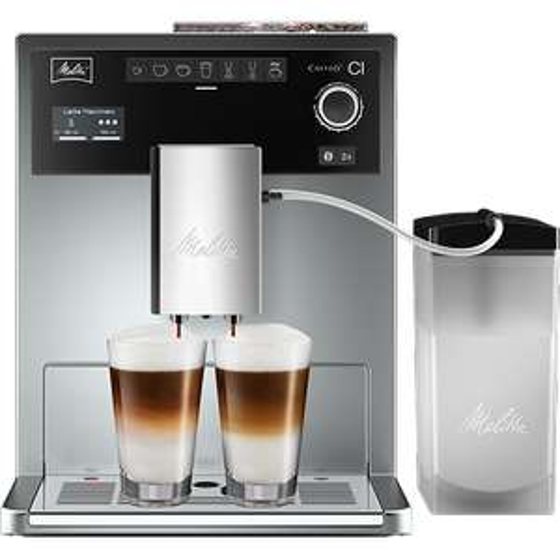 Melitta Caffeo CI E970-101 Kaffeevollautomat mit Milchbehälter