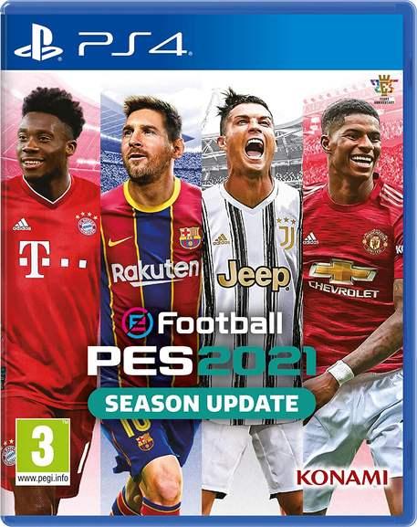 eFootball PES2021 Season Update (PS4)
