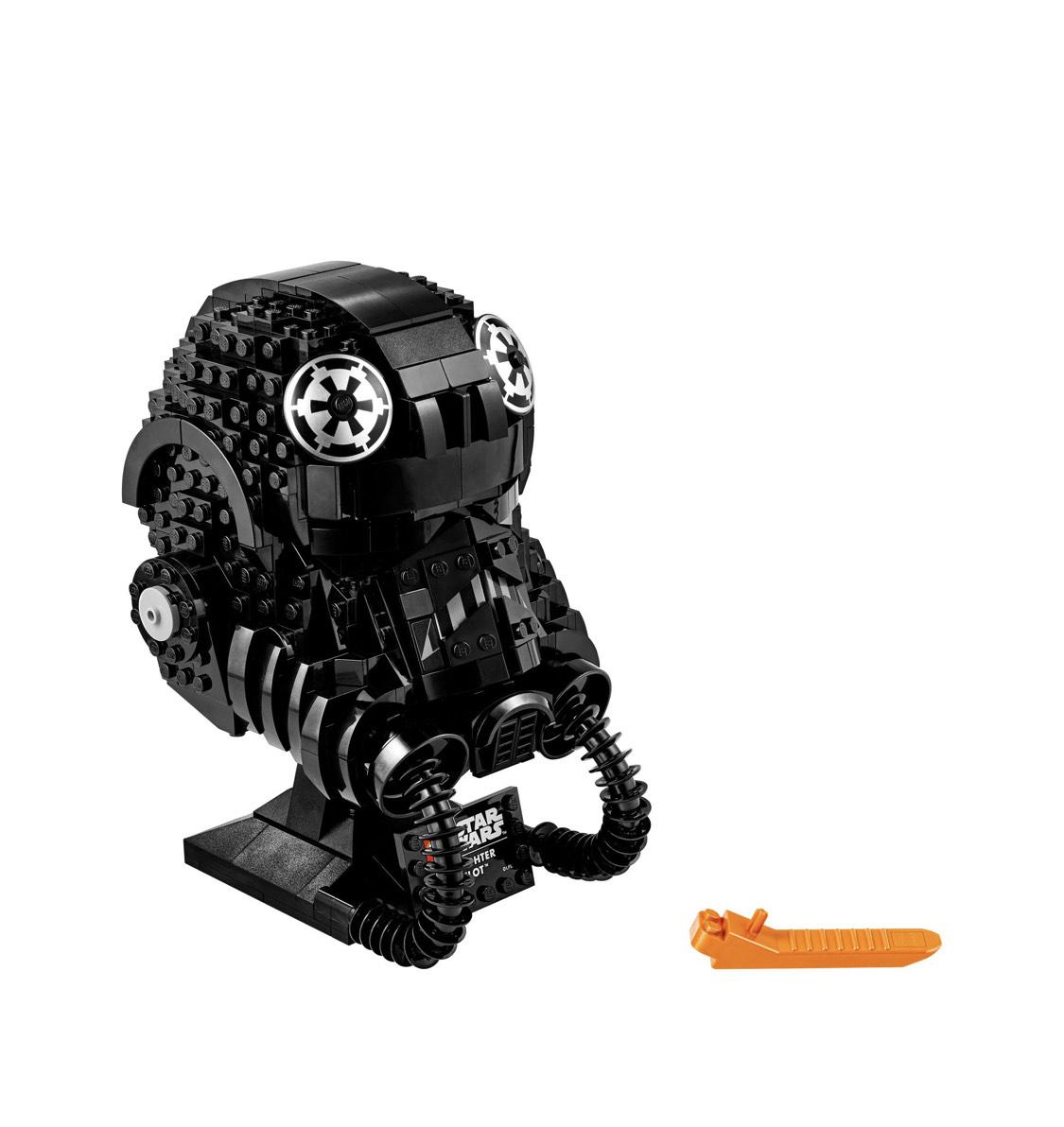 Tie Fighter Pilot Helm Lego Star Wars
