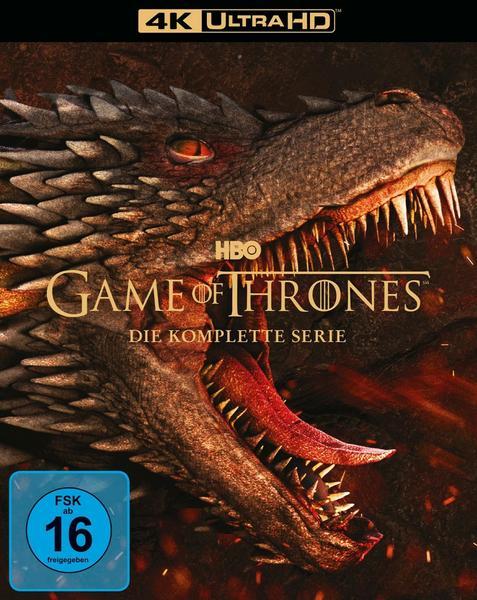 Game of Thrones - Die komplette Serie 4K Ultra HD Blu-ray (33 Discs)
