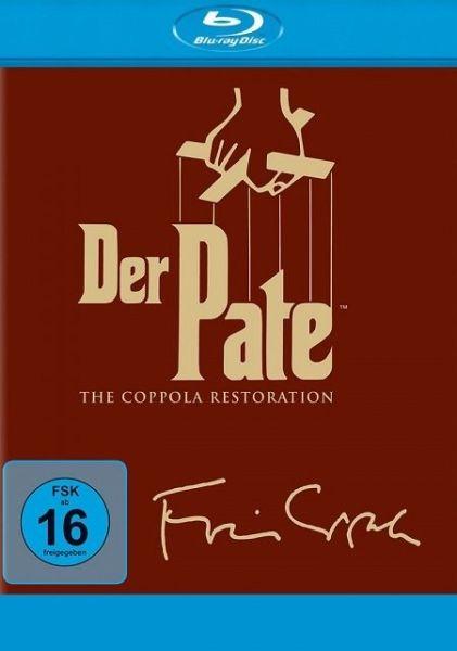 Ein Angebot das man nicht ablehnen kann! Der Pate The Coppola Restoration Blu-ray Trilogie für 15,83€ inkl. Versand