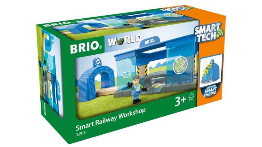 (Müller) Verschiedene BRIO Smart Tech Artikel (z.B. Smart Tech Werkstatt) + 3,95€ VSK (Kostenlose Filallieferung möglich)