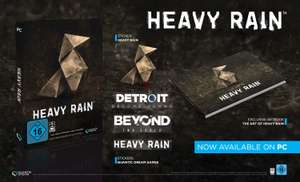 Heavy Rain oder Beyond Two Souls inkl. Artbook und Sticker (PC/Epic) für je 9,99€ (Amazon Prime & Saturn/Media Markt Abholung)