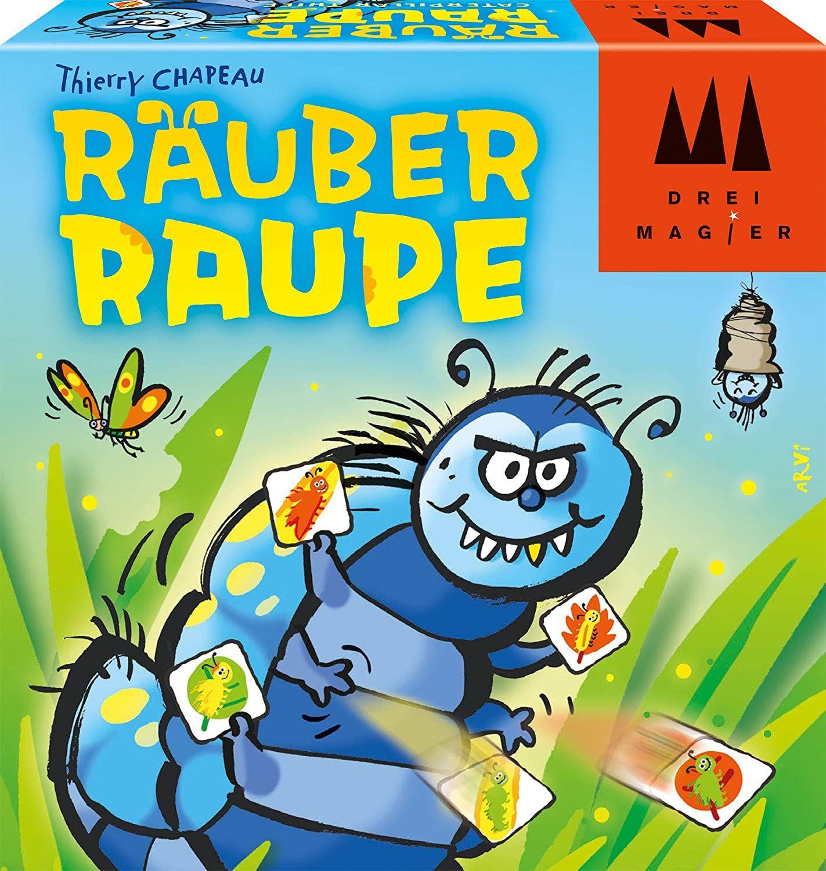 [Prime] Schmidt Spiele 40886 Räuber Raupe, DREI Magier Kartenspiel, bunt