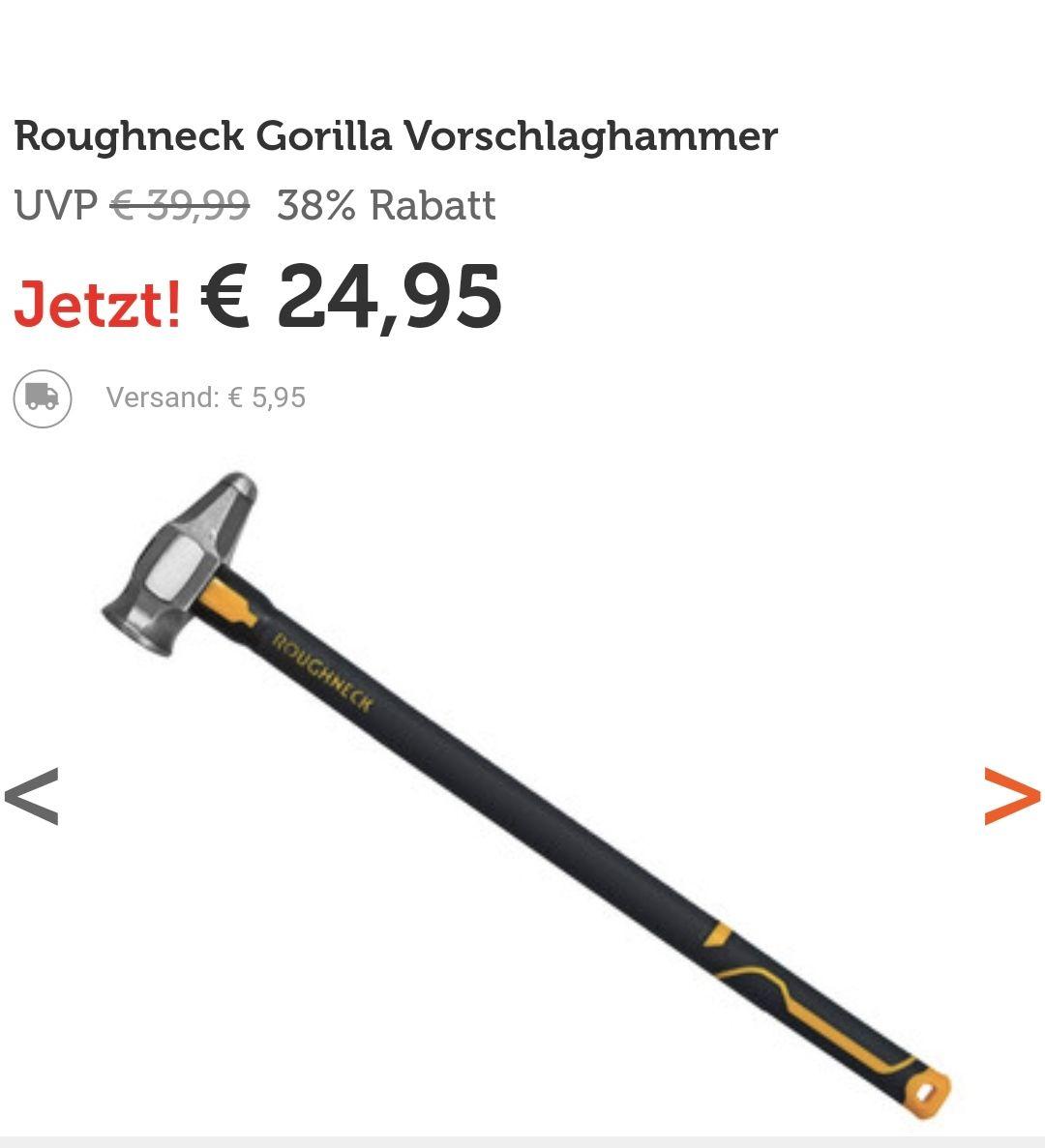 Roughneck Gorilla Vorschlaghammer (3,6kg)